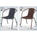 Стол за бистро от ратан