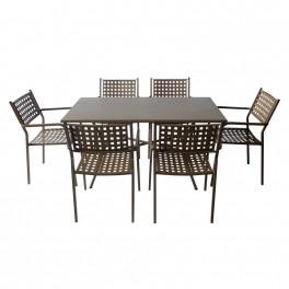 Маси и столове от метал АМ-С159-141-2