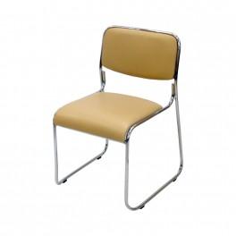 Посетителски стол  С114 бежов