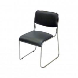 Посетителски стол  С114 черен