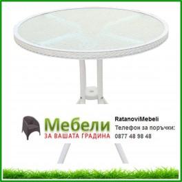 Плетена маса от ратан ф 75