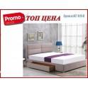 Спалня MERIDA 160 (бежов)