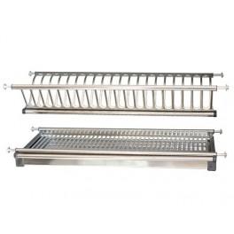 Отцедник за вграждане в кухненски за шкаф на 2 реда модел INOX