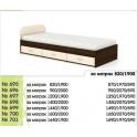 Легло за едно- или двулицев матрак, с чекмеджета