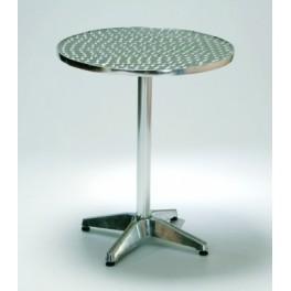 Кръгла алуминиева градинска маса