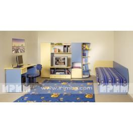 Комплект обзавеждане за детска стая Лилия
