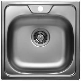 Кухненска мивка за вграждане от неръждаема стомана - алпака