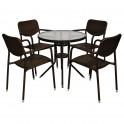 Градински маси и столове от ратан