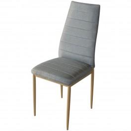 Трапезен стол W-68-B сив