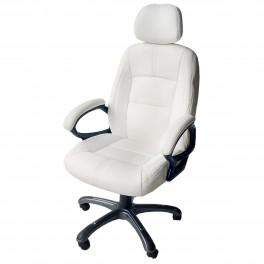 Въртящ се стол за офис - бял или черен