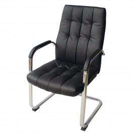 Посетителски стол от еко кожа 095