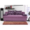 Разтегателен диван с цвят дамаска по избор
